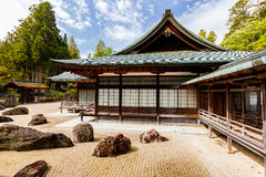 Japanese rock garden Royalty Free Stock Photography