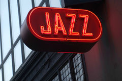Jazz Sign Royalty Free Stock Photography