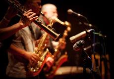 Jazzoverleg Royalty-vrije Stock Afbeelding