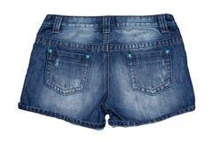 Jean short pants Stock Photos