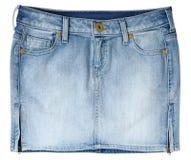 Jeans skirt Stock Photos