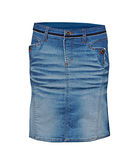 Jeans skirt Stock Images
