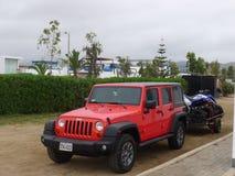Jeep Wrangler Unlimited Lizenzfreie Stockfotos