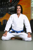 Jiu Jitsu Girl Stock Photography