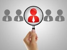 Job recruitment Stock Image