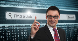 Job Search Royalty Free Stock Images