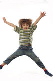 Jumping kid Royalty Free Stock Images