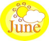 juni Royaltyfria Bilder