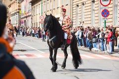 Juni parade Brasov Stock Photo