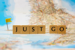 Just go travel Stock Photography