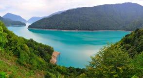 Jvari Reservoir, Georgia Stock Photos