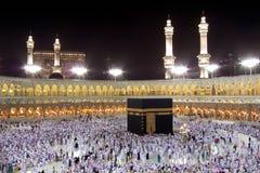 Kaaba in Mekka Royalty-vrije Stock Foto's