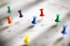 Kalenderbenoeming Royalty-vrije Stock Afbeelding
