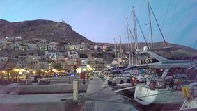 Kalimnos harbor Stock Images