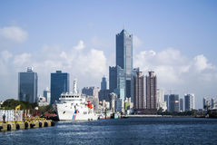 Kaohsiung Harbor Royalty Free Stock Images