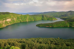 Kardzhali reservoir Royalty Free Stock Photos