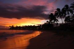 Kauai Nightfall Stock Photo