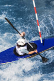Kayaker Royalty Free Stock Photography