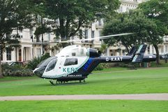 Kent Air Ambulance, East Sussex Stock Images