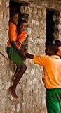 Kenyan Teens,african school Stock Photos
