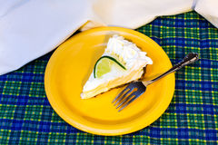 Key Lime Pie Stock Image