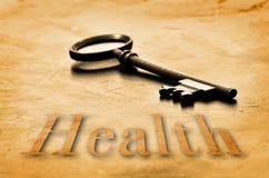 Key to Health Royalty Free Stock Photos