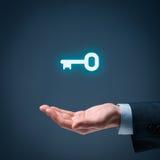 Key to success Royalty Free Stock Image