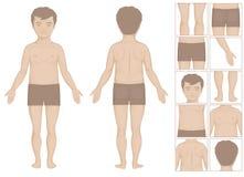 Kid body parts Stock Photography