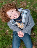 Kid and nature Royalty Free Stock Images