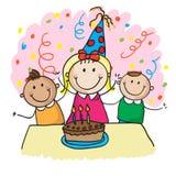 Kids birthday Stock Photography