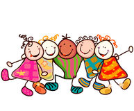 Kids group Royalty Free Stock Photography