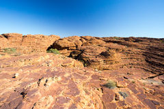 Kings Canyon Rock Formation Royalty Free Stock Images