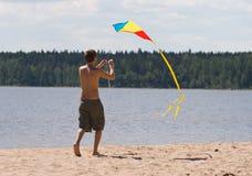 Kiteflying Stock Photography