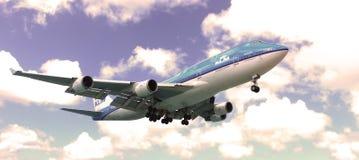 KLM Boeing 747-400 Photo stock
