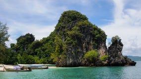 Koh Hong Island an Phangnga-Bucht Stockfotos