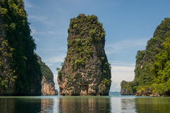 Koh Panak Island an Phangnga-Bucht Stockfoto