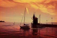Konstanz harbor Royalty Free Stock Photo