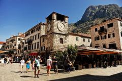 Kotor old town Royalty Free Stock Images