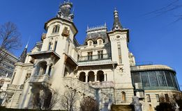 Kretzulescu palace - Bucharest UNESCO headquarters Royalty Free Stock Images