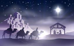 Kristi födelsejulplats Royaltyfri Bild