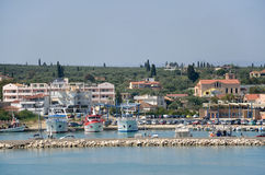 Kyllini port in Greece Royalty Free Stock Photography