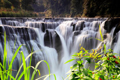 La cascada más grande de Taipei, Taiwán Fotos de archivo libres de regalías
