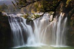 La cascada más grande de Taipei, Taiwán Fotografía de archivo