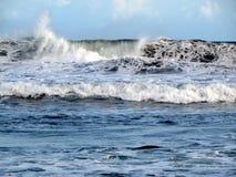 La forza dell'Oceano Indiano Immagini Stock Libere da Diritti