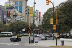 La Reforma, a rua principal de Buenos Aires Fotografia de Stock Royalty Free