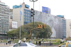 La Reforma, a rua principal de Buenos Aires Imagens de Stock