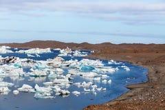 Lac glacier Image libre de droits
