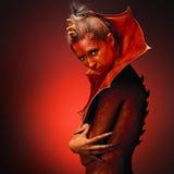 Lady Dragon Stock Photo