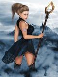 Lady Elf Royalty Free Stock Image