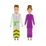 Lao national dress Royalty Free Stock Image